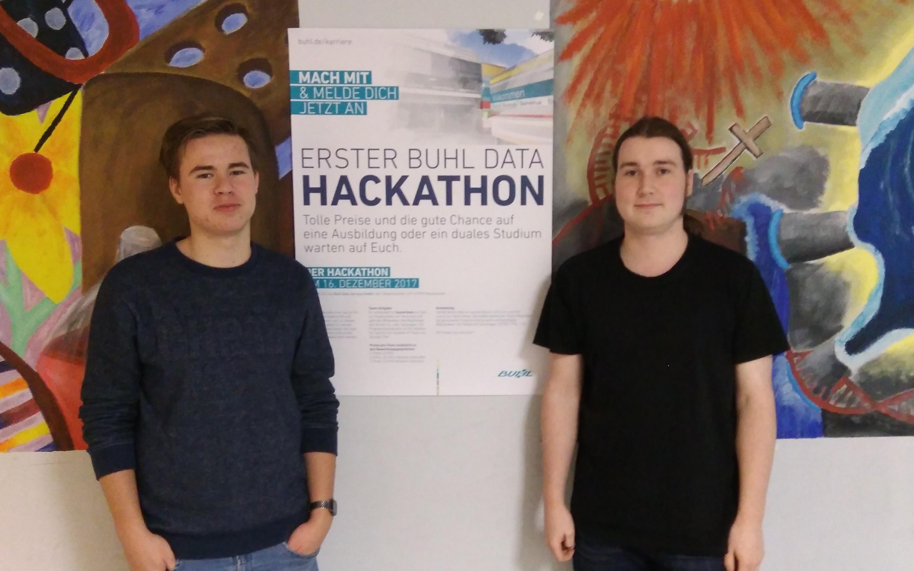Schüler der Q1 gewinnen Hackathon